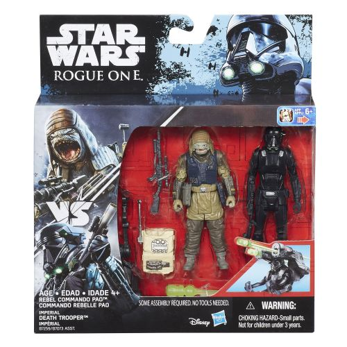 Star Wars Rogue One Rebel Commando & Imperial Death Trooper Deluxe Pack